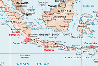 Areas of investigation for ocean renewable energy in the Indonesian Seas